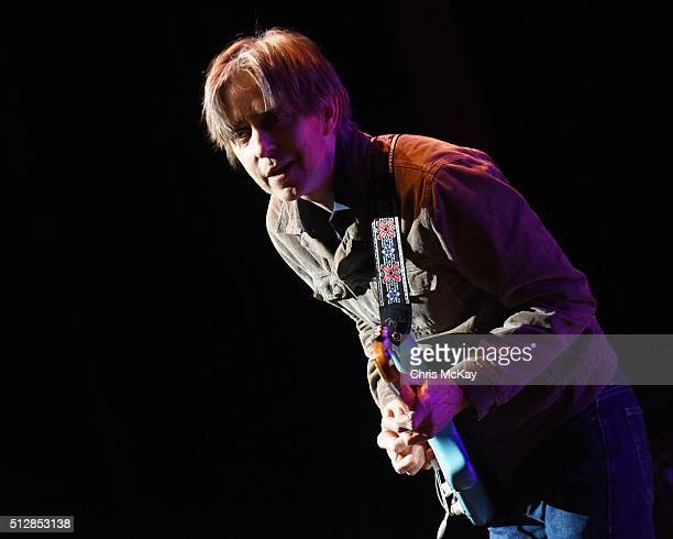 Eric Johnson performs at Fox Theater on February 27 2016 in Atlanta Georgia