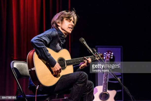 Eric Johnson performs during Great Guitars Eric Johnson at The GRAMMY Museum on February 23 2017 in Los Angeles California