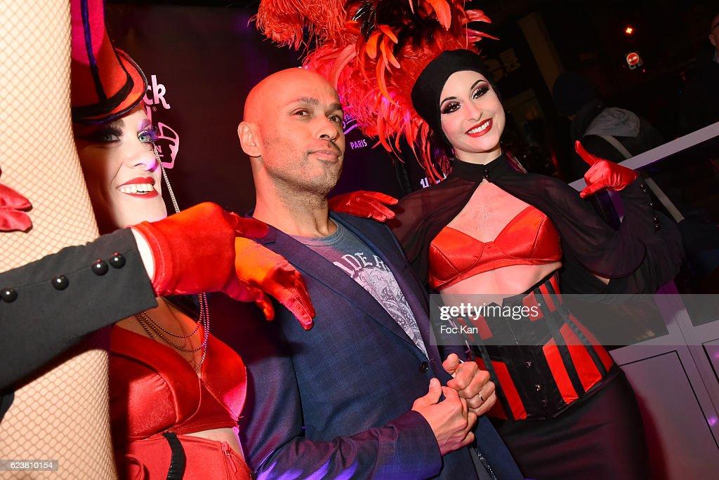 Eric Judor attends 'Hard Rock Cafe Paris 25th Anniversary Celebration' at Hard Rock Cafe on November 16, 2016 in Paris, France.