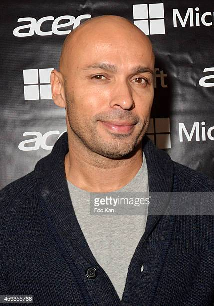 Eric judor attends the Acer Pop Up Store Launch Party at Les Halles on November 20, 2014 in Paris, France.