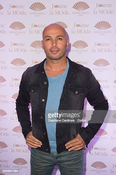 Eric Judor attends the 'J'Aime La Mode' Cocktail Event Hosted by Chef Thierry Marx at Hotel Mandarin Oriental on September 23 2013 in Paris