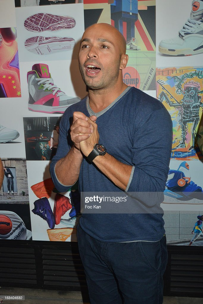 Eric Judor attends the Reebok Ephemeral Beaubourg Flagship Store Opening Party at LÕImprimerie October 4, 2012 in Paris, France.