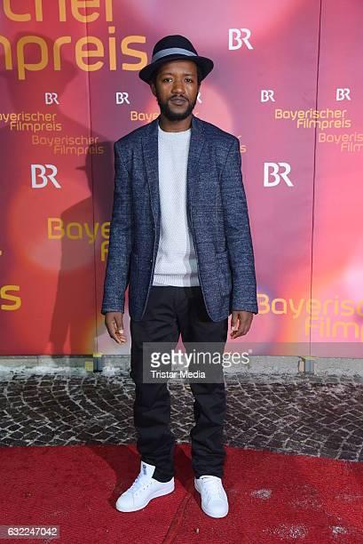 Eric Kabongo attends the Bayerischer Filmpreis 2017 at Prinzregententheater on January 20 2017 in Munich Germany