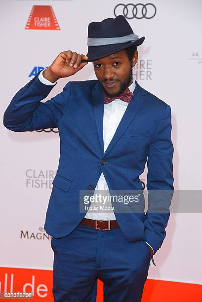 Eric Kabongo attends the German Film Ball 2017 at Hotel Bayerischer Hof on January 21 2017 in Munich Germany