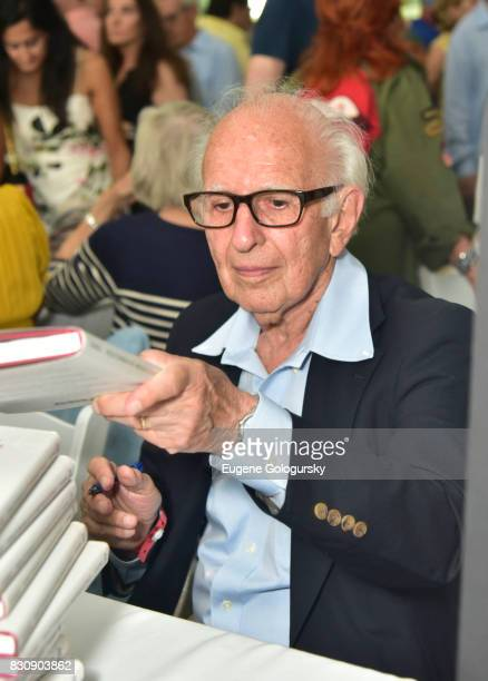 Eric Kandel attends Authors Night 2017 At The East Hampton Library at The East Hampton Library on August 12 2017 in East Hampton New York