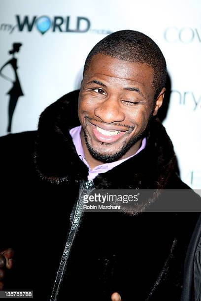 Eric Kelly attends Lisa D'Amato's America's Next Top Model All Stars celebration at Chrystie 141 on December 13 2011 in New York City
