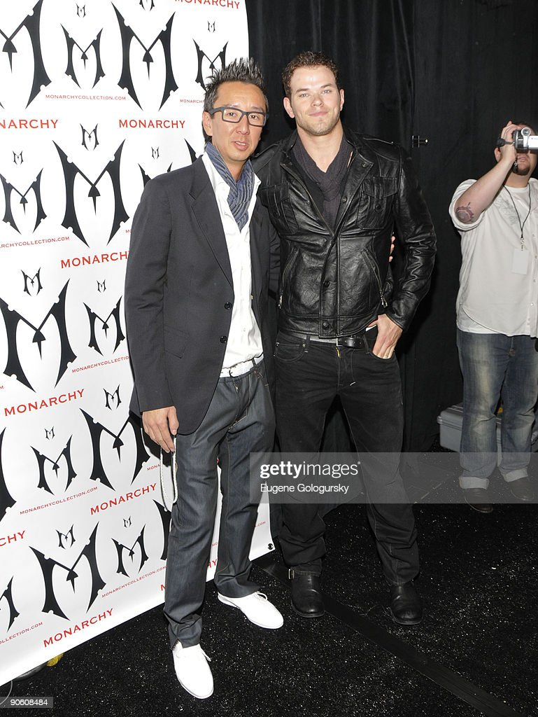 Mercedes-Benz Fashion Week Spring 2010 - Monarchy - Front Row And Backstage