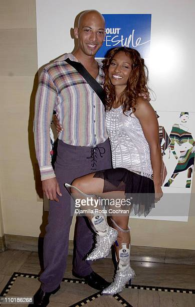 Eric King and Rozonda 'Chilli' Thomas of TLC during MercedesBenz Fashion Week Spring 2004 Absolut Lifestyle and Honey Magazine present Dollhouse...