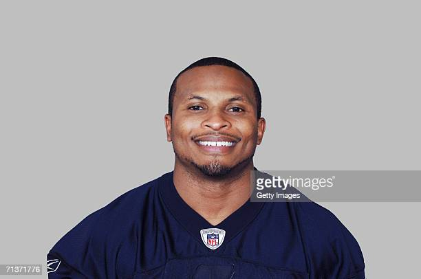 Eric King of the Buffalo Bills poses for his 2006 NFL headshot at photo day in Orchard Park New York
