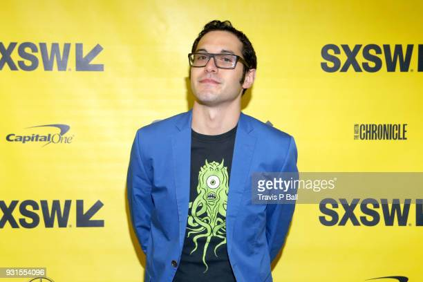 Eric Kohn attends SXSW at Austin Convention Center on March 13 2018 in Austin Texas
