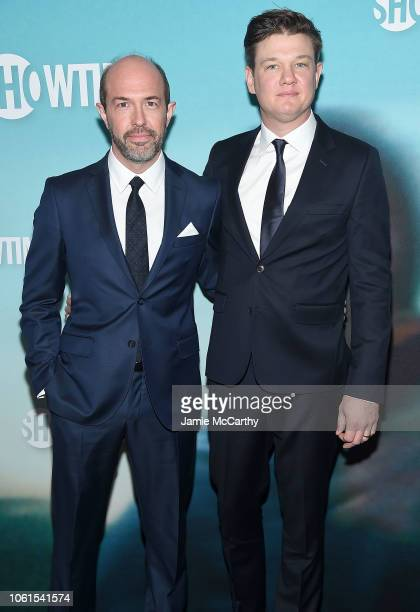 Eric Lange and executive producer and writer Brett Johnson attend the 'Escape At Dannemora' New York Series Premiere at Alice Tully Hall Lincoln...