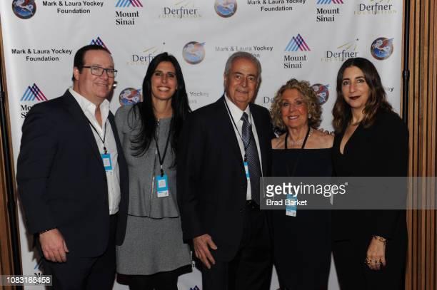 Eric Lieberman Alexis Lieberman Jay Lieberman Penny Lieberman Andrea Lieberman attend Steve Miller Band Benefit Concert To Support The Mount Sinai...