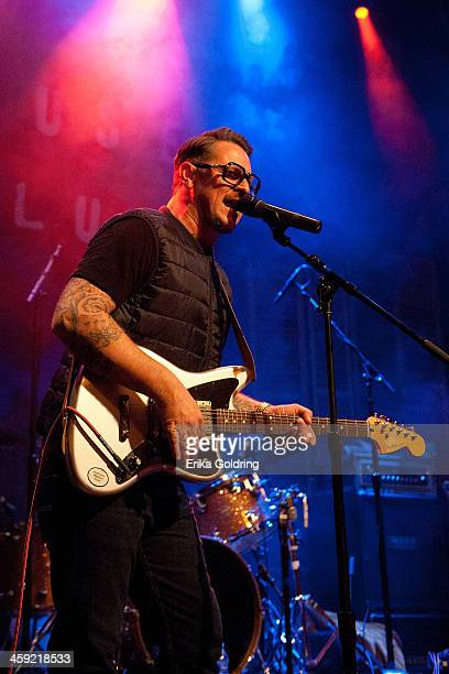 Eric Lindell performs during Home For The Holiday Featuring The Andrews Family at the House of Blues on December 23 2013 in New Orleans Louisiana