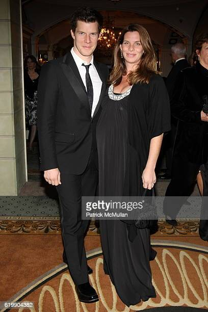 Eric Mabius and Ivy Sherman attend American Ballet Theatre 2008 Fall Season Gala at City Center/Pierre Hotel on October 21 2008 in New York City