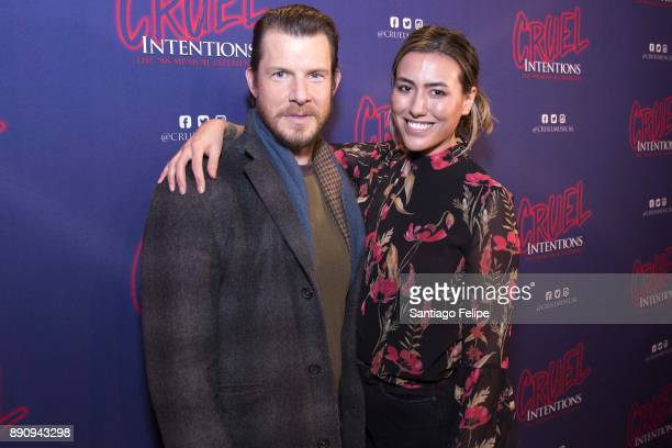 Eric Mabius and Ivy Sherman attend 'Cruel Intentions' The 90's Musical Experience at Le Poisson Rouge on December 11 2017 in New York City