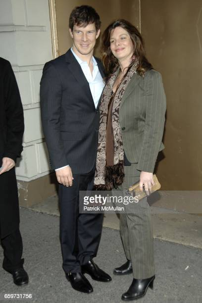 Eric Mabius and Ivy Sherman attend Opening Night and After Party for GOD OF CARNAGE at The Bernard B Jacobs Theatre and Espace on March 22 2009 in...