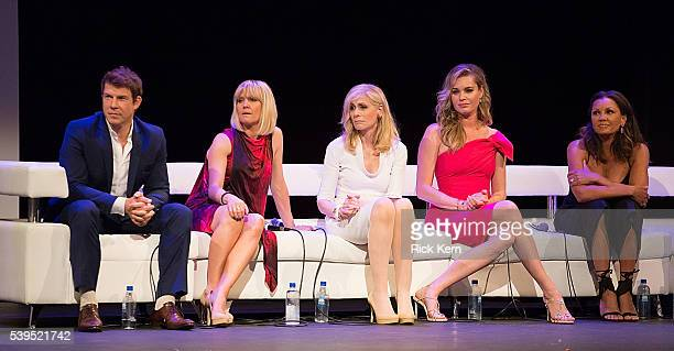 Eric Mabius Ashley Jensen Judith Light Rebecca Romijn and Vanessa Williams attend the Ugly Betty Reunion presented with Entertainment Weekly at the...