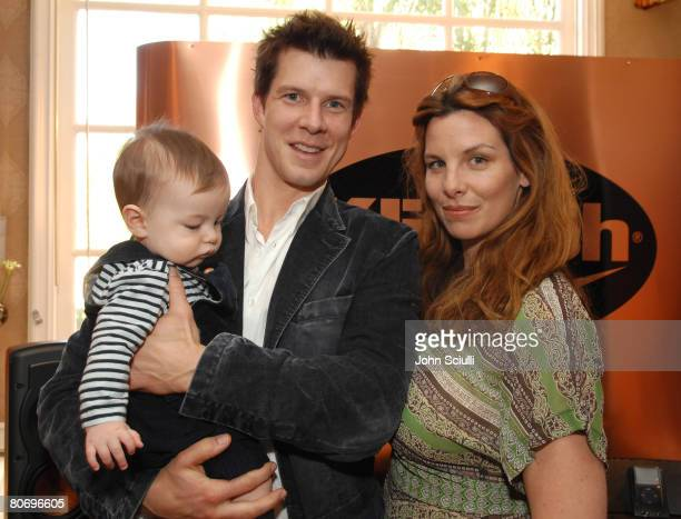 Eric Mabius Ivy Sherman and son at Klipsch