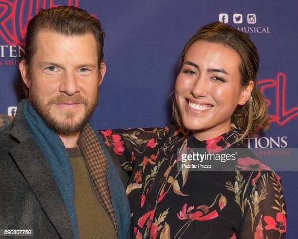 POISSON ROUGE NEW YORK UNITED STATES Eric Mabius Ivy Sherman attend Opening night of Cruel Intentions musical at Poisson Rouge