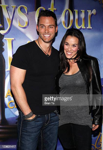 Eric Martsolf and wife Lisa Kouchak attend Days Of Our Lives 45th anniversary party at House of Blues Sunset Strip on November 6 2010 in West...
