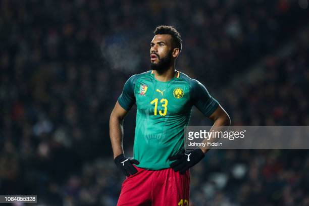 Eric Maxim Choupo Moting of Cameroon during the International Friendly match between Brazil and Cameroon on November 20, 2018 in London, United...