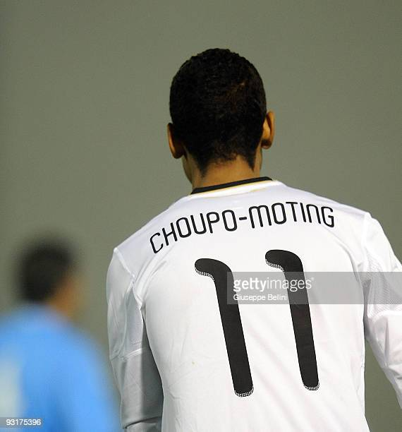 Eric Maxim Choupo Moting of Germany in action during the UEFA Under 21 Championship match between San Marino and Germany at Olimpico stadium on...