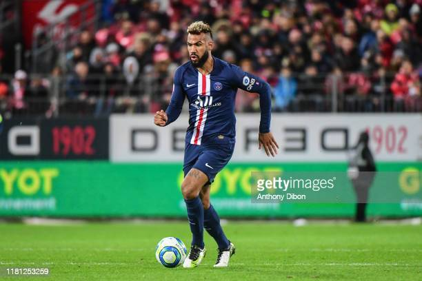 Eric Maxim CHOUPO MOTING of PSG during the Ligue 1 match between Brest and Paris Saint Germain at Stade FrancisLe Ble on November 9 2019 in Brest...