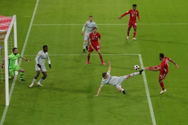 DEU: FC Bayern München v Bayer 04 Leverkusen - Bundesliga for DFL