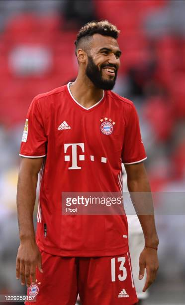 Eric Maxim ChoupoMoting of Bayern Munich reacts during the German Bundesliga soccer match between FC Bayern Munich and Eintracht Frankfurt in Munich...