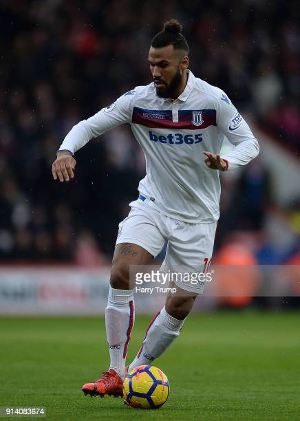 Eric Maxim ChoupoMoting of Stoke City during the Premier League match between AFC Bournemouth and Stoke City at Vitality Stadium on February 3 2018...