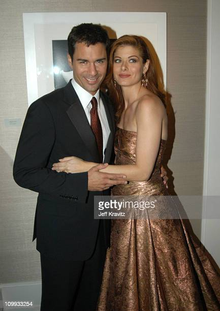 Eric McCormack and Debra Messing winner of the award for outstanding lead actress in a comedy series for her work on Will Grace