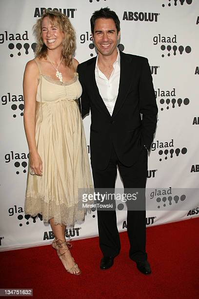 Eric McCormack and his wife during 17th Annual GLAAD Media Awards at Kodak Theatre in Hollywood California United States