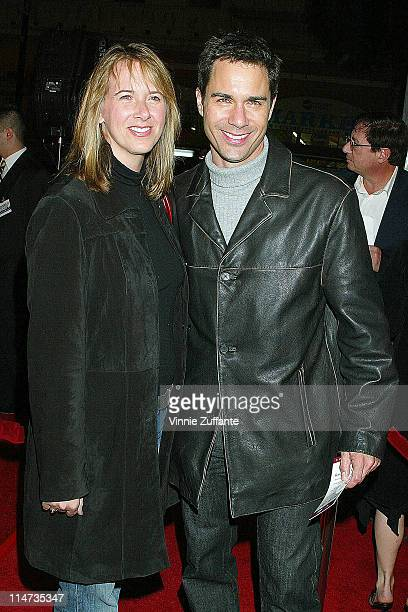 Eric McCormack and wife Janet attending the premiere of Along Came Polly at Grauman's Chinese Theater in Hollywood CA 01/12/03