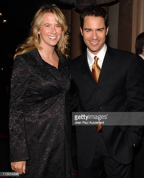 Eric McCormack and wife Janet during The Friends of The Los Angeles Free Clinic's 28th Annual Dinner Gala at Regent Beverly Wilshire in Beverly Hills...