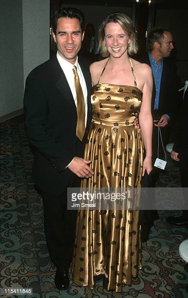 Eric McCormack and wife Janet Holden during 10th Annual GLAAD Media Awards at Century Plaza Hotel in Century City California United States