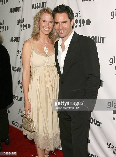 Eric McCormack and wife Janet Holden during 17th Annual GLAAD Media Awards Arrivals at Kodak Theatre in Hollywood California United States