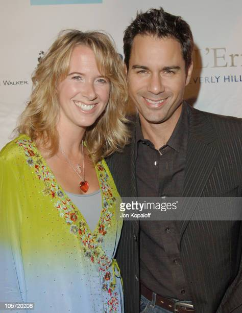 Eric McCormack and wife Janet Holden during Raffles L'Ermitage Emmy Kick Off Party Arrivals at Raffles L'Ermitage Beverly Hills in Beverly Hills...