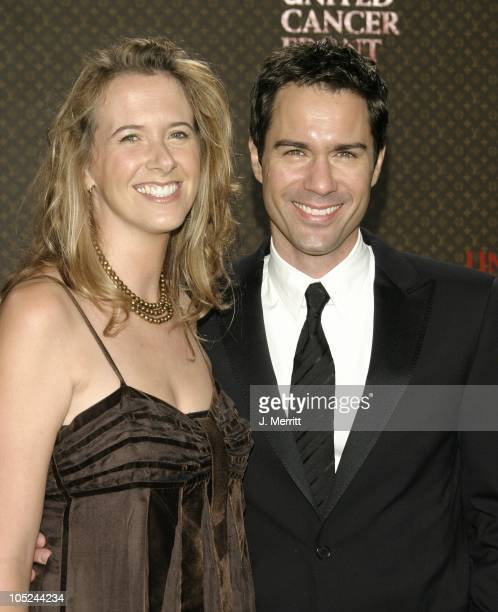 Eric McCormack and wife Janet Holden during The Louis Vuitton United Cancer Front Gala at Private Holmby Hills Estates in Beverly Hills California...