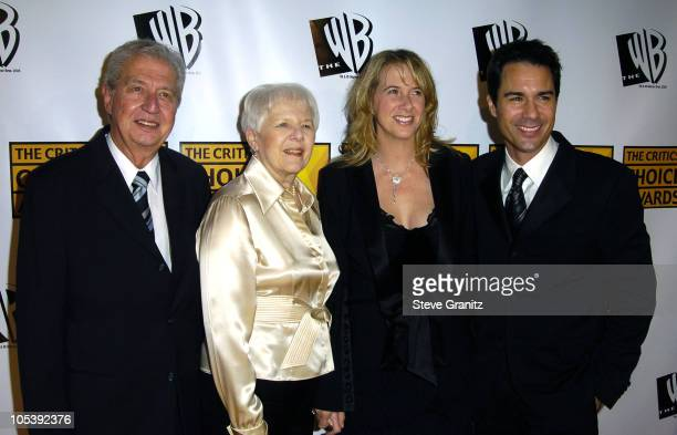 Eric McCormack and wife Janet Holden with parents during 10th Annual Critics' Choice Awards Arrivals at Wiltern LG Theatre in Los Angeles California...