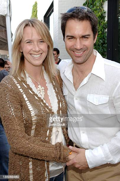 Eric McCormack and wife Janet McCormack during The John Varvatos 4th Annual Stuart House Charity Benefit Inside at John Varvatos Boutique in Los...