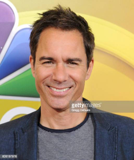 Eric McCormack arrives at the 2017 Summer TCA Tour NBC Press Tour at The Beverly Hilton Hotel on August 3 2017 in Beverly Hills California