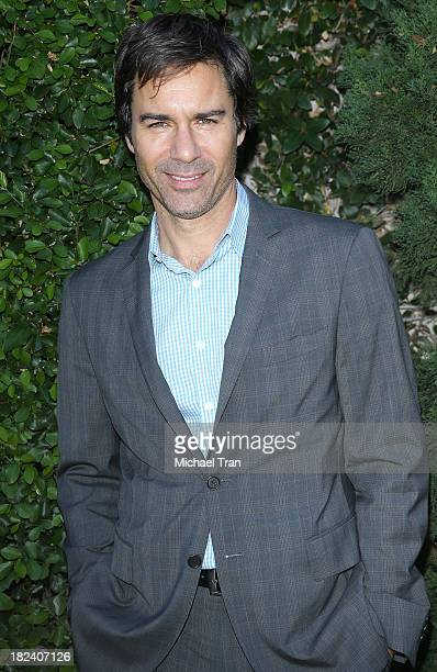 Eric McCormack arrives at The Rape Foundation's Annual Brunch held at Ron Burkle's Green Acres Estate on September 29 2013 in Beverly Hills California
