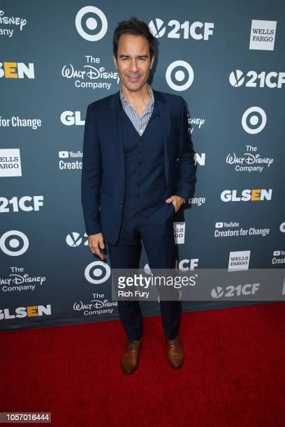 Eric McCormack attends the GLSEN Respect Awards at the Beverly Wilshire Four Seasons Hotel on October 19 2018 in Beverly Hills California