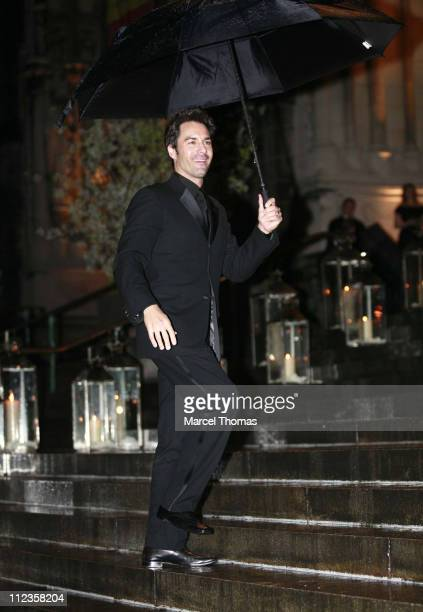 Eric McCormack during Elton John's 60th Birthday Party at St John the Divine Church in New York City New York United States