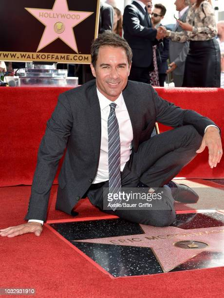 Eric McCormack is honored with star on the Hollywood Walk of Fame on September 13 2018 in Hollywood California