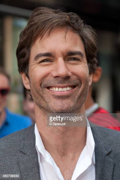Eric McCormack visits 'Extra' in Times Square on June 16 2014 in New York City