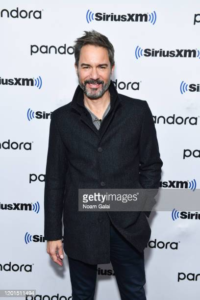 Eric McCormack visits the SiriusXM Studios on January 23 2020 in New York City