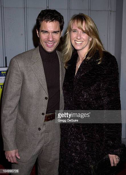 Eric McCormack wife Janet Holden during Project Angel Foods 9th Annual Divine Design Grand Opening Gala at Barker Hanger at Santa Monica Air Center...