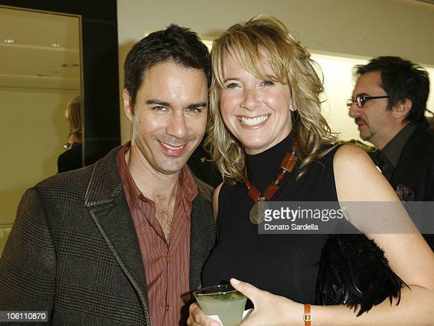 Eric McCormack with his wife Janet Leigh HoldenMcCormack
