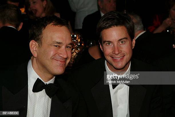 Eric Menkes and James Hewitt attend Joe Blount 50th Birthday Celebration at Cipriani 42nd street on December 17 2005 in New York City